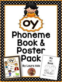 oy Phonogram Book & Poster Pack with Phonics Practice