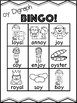 oy Vowel Digraph Bingo [10 playing cards]