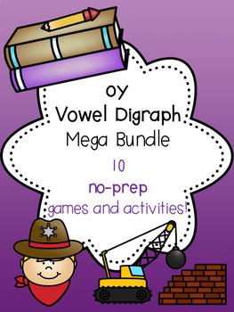 oy Vowel Digraph Mega Bundle! [10 no-prep games and activities]