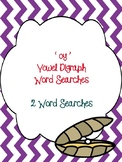 oy Vowel Digraph Word Searches!