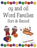 oy and oi  (oy and oil Word FamilySort)