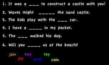 Promethean Board-oy, oi flipchart Sand Castles Treasures McGraw/Hill First Grade