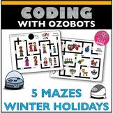 ozobots™ Maze Winter Holidays