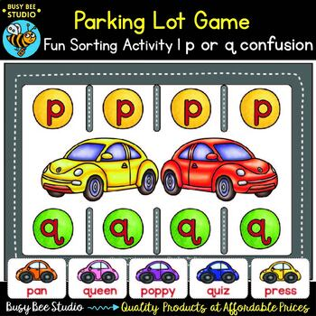 p and q Letter Reversals Game