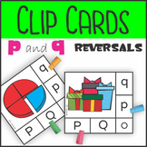 p and q Reversal Self Checking Clip Cards