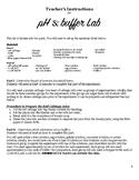 pH & Buffer Lab and Quiz