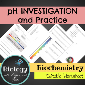 pH Investigation and Practice