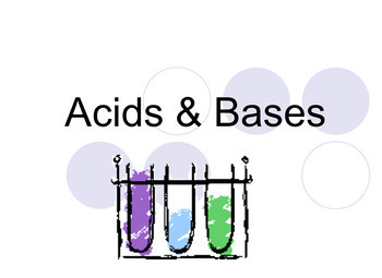 (Acid & Base) Litmus & pH Lab