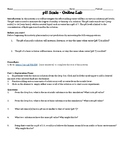 pH Online Lab Investigation