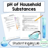 pH of Household Substances Inquiry Lab Biology Chemistry D