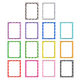 page borders/product frames/task cards with flower design-