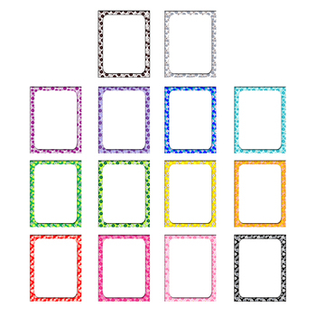 """page borders/product frames with floral pattern// .jpg and .png 8.5""""x11"""""""