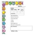 page per child info