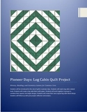 paper log cabin quilt: History, Reading, and Geometry Lesson for Common Core