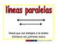 parallel lines/lineas paralelas geom 2-way blue/rojo