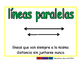 parallel lines/lineas paralelas geom 2-way blue/verde