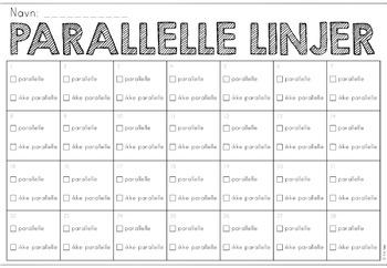 parallelle linjer (oppdragskort)