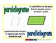 parallelogram/paralelogramo geom 1-way blue/verde