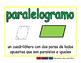 parallelogram/paralelogramo geom 2-way blue/verde