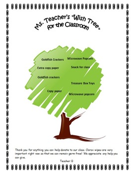 parent wish tree for classroom word doc for changes