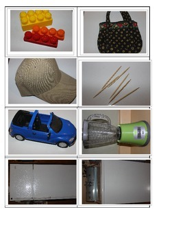 part 2 Functional pictures household items flashcards, naming objects categories