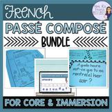French passé composé notes, exercises,and activities- bundled