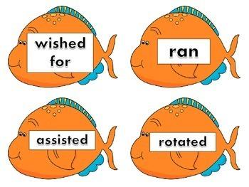 past tense fish