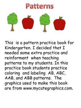 pattern practice book