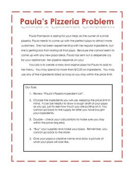 Paula's Pizzeria