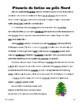 French Christmas News Stories - passé composé or imparfait?