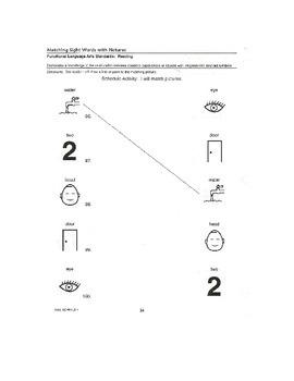 pecs worksheets 22-30
