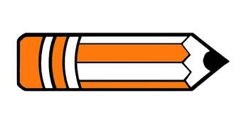 pencil clip art(FREE- FREEDBACK CHALLENGE)