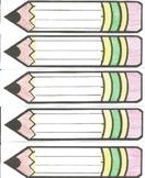 pencil nameplates