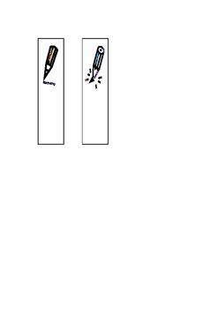 pencils: sharp vs. unsharpened