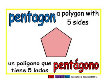 pentagon/pentagono geom 1-way blue/rojo