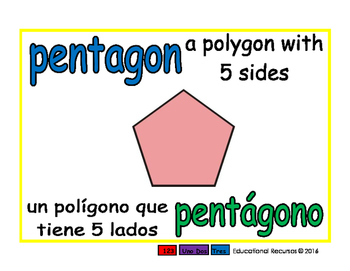 pentagon/pentagono geom 1-way blue/verde