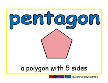 pentagon/pentagono geom 2-way blue/rojo