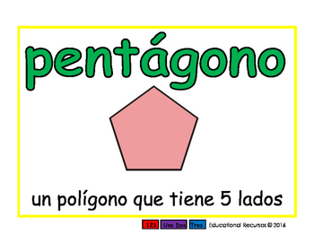 pentagon/pentagono geom 2-way blue/verde