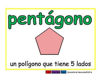 pentagon/pentagono geom 2-way blue/verde