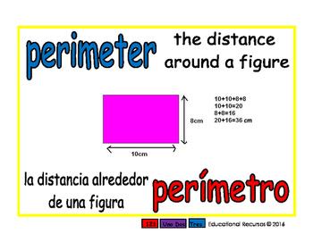 perimeter/perimetro geom 1-way blue/rojo
