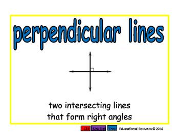 perpendicular lines/lineas perpendiculares geom 2-way blue/rojo