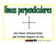 perpendicular lines/lineas perpendiculares geom 2-way blue/verde