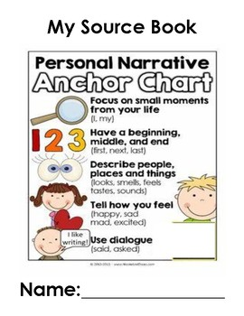 personal narrative writing source book