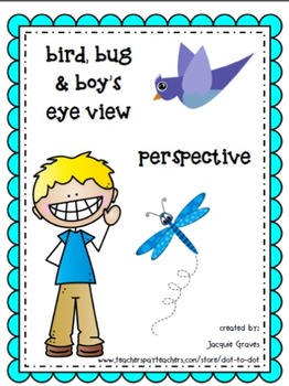 perspective- bird's, bug's & boy's eye view