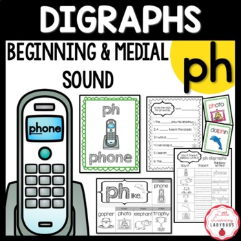 Beginning and Medial /ph/ Digraph Pack