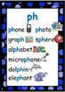 'ph' PHONIC flashcards and chart - 7 sounding out flashcar