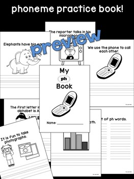 ph Phoneme Book & Poster Pack with Phonics Practice