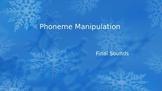 phoneme manipulation - Final Sounds