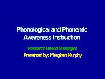Phonics Strategies and Tips Pre-K- Grade 2