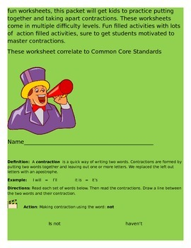 Get in Action with Contractions